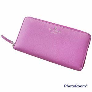 kate spade | pink wallet